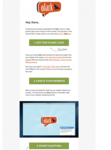 Onboarding Email Example