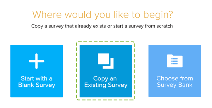 Copy existing Survey_1