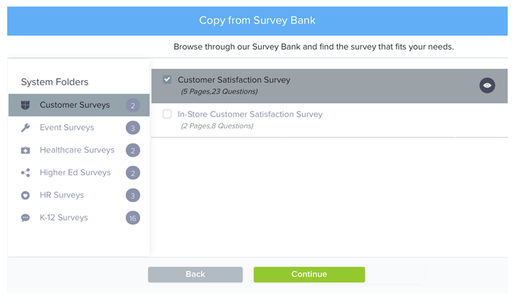 Copy existing Survey_2