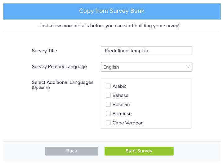 Copy existing Survey_3