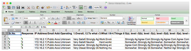 How to Export Survey Data in Different Formats   SoGoSurvey