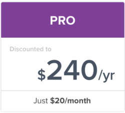 Students Discount on PRO Plan