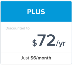 Students Discount on PLUS Plan